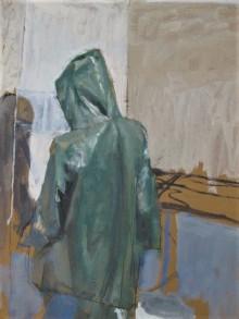 3_aidan-crotty_oilskin-fluorescent-light_-oil-on-canvas_35cm-x-45cm_-2015