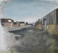 Industrial park, oil on canvas, 61 x 56 cm, 2013-14
