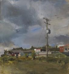 Modified landscape, oil on canvas, 66 x 71 cm, 2014