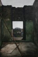Interior, egg tempera on gesso panel, 61 x 91 cm, 2009