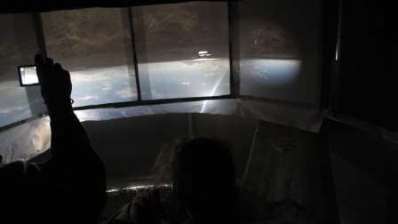 viewers in camera obscura