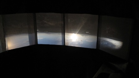 Towards Achill, Inverted scene, from inside camera obscura