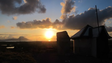 Sunset, Camera obscura, Ballycroy National Park, Co. Mayo.