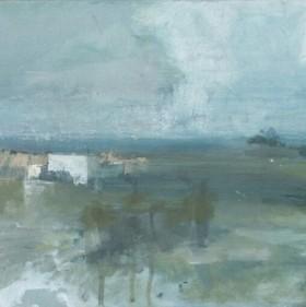 Factory, oil on canvas, 25 x 30 cm, 2011