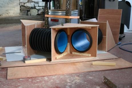 Periscope under construction