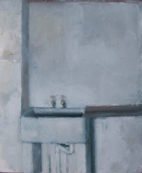 Sink, oil on canvas, 21 x 26 cm, 2011