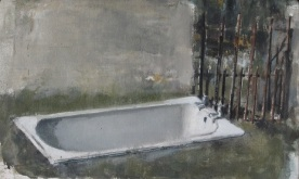 Trough, oil on canvas, 25 x 15 cm, 2012