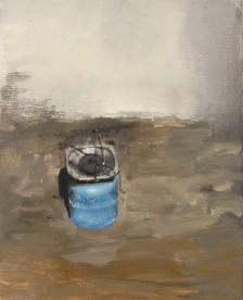 Cylinder, oil on linen, 33 cm x 24 cm, 2017