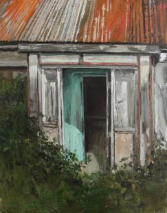Porch, oil on linen, 46 x 36cm
