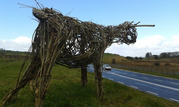 A community project at Ballaghaderreen by-pass, Co. Roscommon