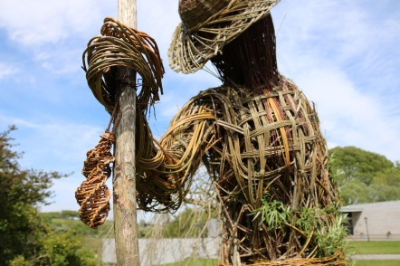 Willow-man (starting to grow) @ National Museum of Ireland - Country Life, Turlough Park, Co. Mayo